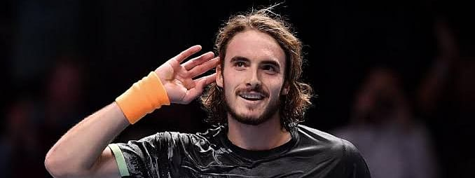 Tsitsipas beats Roger Federer to face  Thiem for ATP title