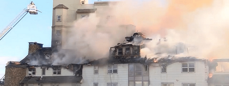 Over a century old Pennsylvania resort ravaged by fire