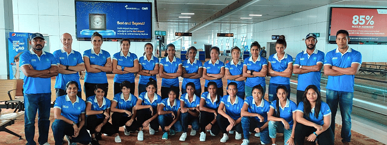 Indian Jr women's hockey team leaves for three- nation tourney in Australia