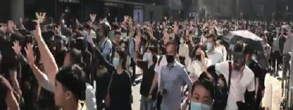Protest cripple parts of Hong Kong for 4th day