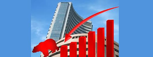 Sensex down by 229.02 pts