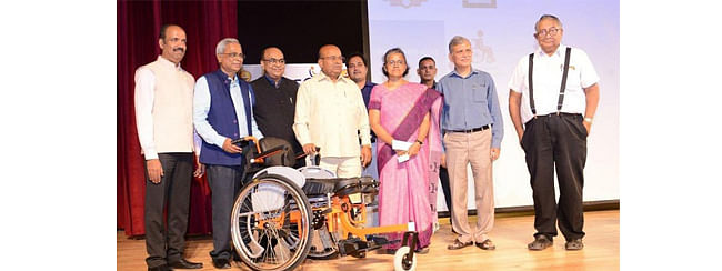 IIT-M's 'Made in India' standing wheel chair launched