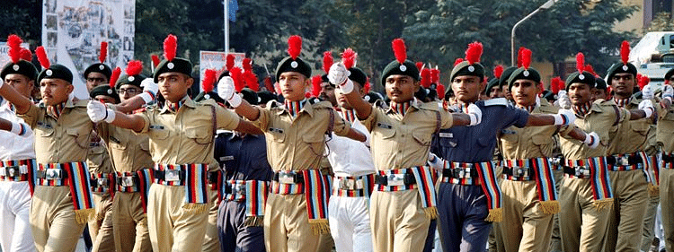 NCC celebrates its 71st Raising Day