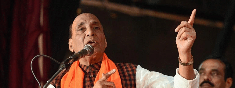 'Grand' Ram temple to come up in Ayodhya, says Rajnath Singh