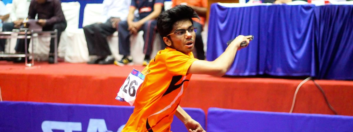 Arjun's focus sends top-seed Manav tumbling out