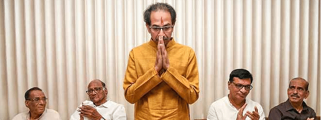 Uddhav to be CM of Sena-NCP-Cong tieup, meeting Guv soon