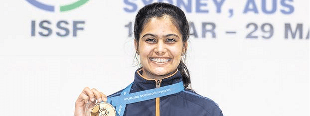 Khattar congratulates Manu on winning gold medal at ISSF WC final