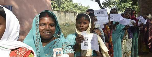 Around 62.87 pc average voter turnout as voting ends on 13 seats of Jharkhand