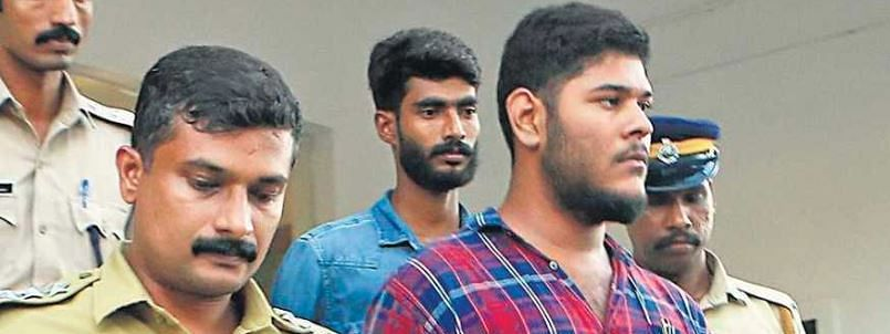 Alan Shuhaiband Thwaha Fasal, who were arrested for alleged Maoist links