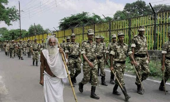Centre sends 4,000 armed personnel to Ayodhya