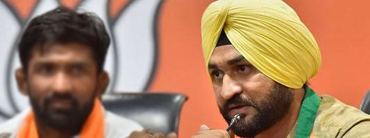Sandeep Singh takes charge as new Sports Minister of Haryana