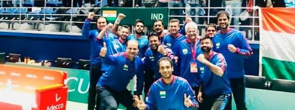 Davis Cup: Paes, Jeevan lead India to  invincible 3-0 against Pakistan