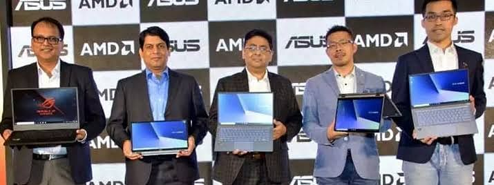 Asus launches AMD-powered Zenbooks