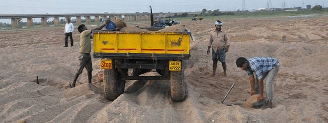 AP mulls to bring new legislation to check sand mafia