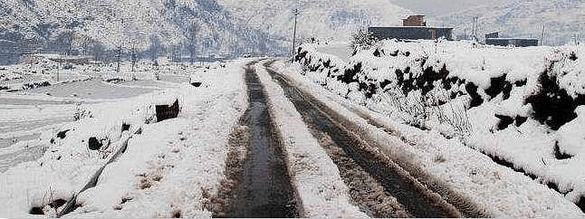 Dozens of border villages remain closed due to snowfall