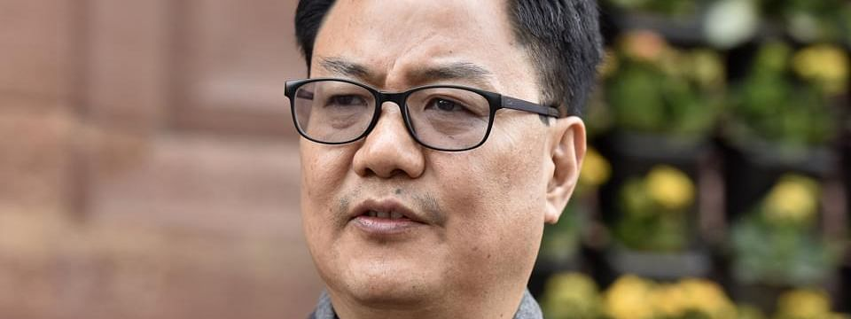 Kiren Rijiju withdraws controversial tweet