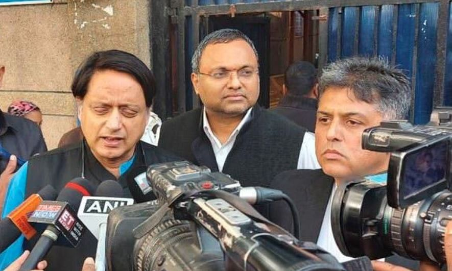 'It's 98 days for Chidambaram in Tihar, where are his rights?', ask Tharoor