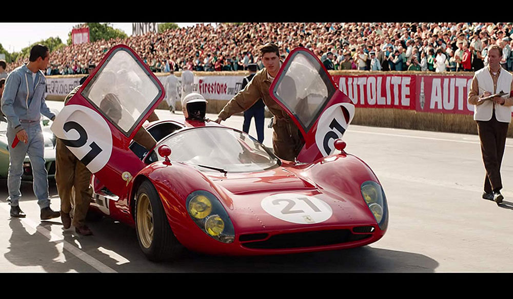 FORD V FERRARI :  A Paean to Speed, Mad Love and Glory!