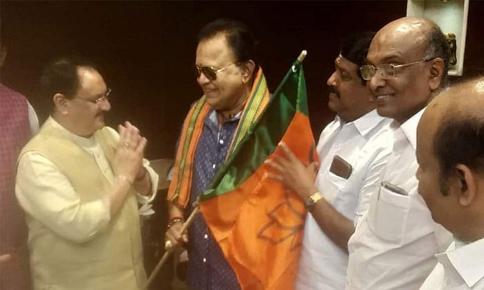 Radha Ravi joins BJP