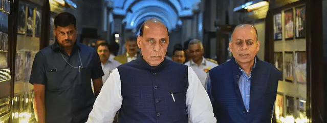 Rajnath leaves for Tashkent to attend SCO meeting