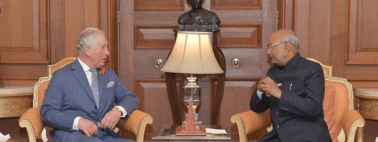 Prince of Wales calls on President