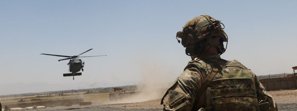 Two US soldiers killed in helicopter crash in Afghanistan
