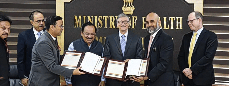 Health Ministry signs MoC with Bill & Melinda Gates Foundation