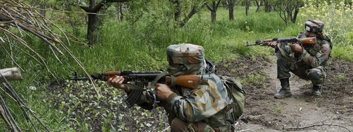 Two militant killed in encounter by SF during CASO in Pulwama