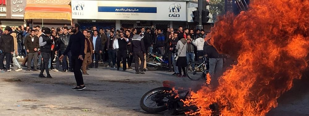 Amnesty Intl blames Iran for killing  of 100 protesters