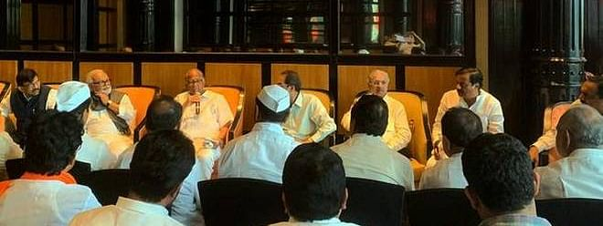 All 53 MLAs with us, claims Sharad Pawar camp