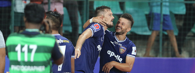 Huge extra-time drama as Chennaiyin get first goal & first win