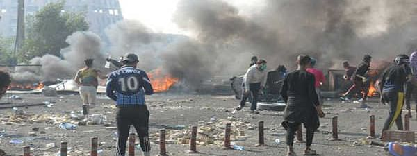 Iraq turmoil: Nearly 45 protesters shot dead, 152 wounded