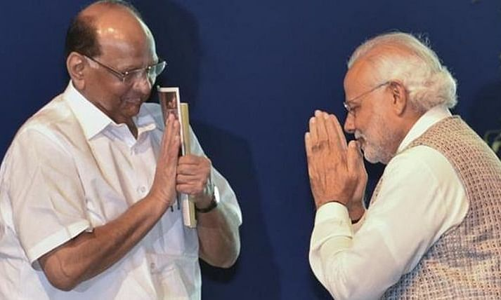 Pawar meets Modi amid Maha crisis, this time for 'drought hit farmers'