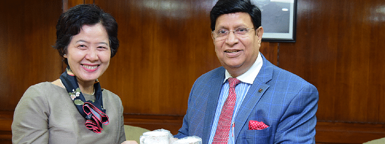 Newly appointed Thai Ambassador calls on Bangladesh Foreign Minister