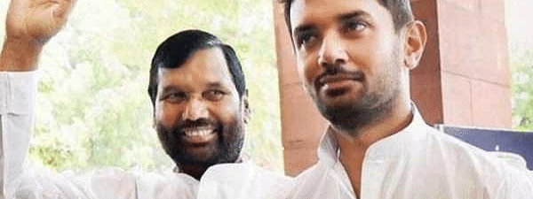 Generation shift in LJP: Chirag Paswan made new party chief