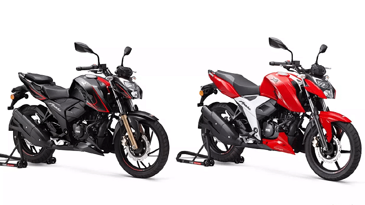 TVS Motor launches TVS Apache RTR 4V range of BS-VI motorcycles