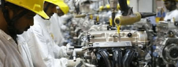 Core industries output in October at -5.8 pc Vs -5.1 per cent in Sept