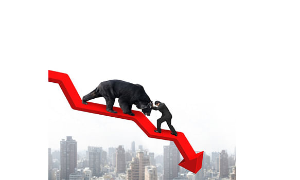 Sensex slips by 90 points