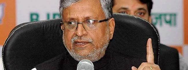 Only 20 percent of budget spent before 2005: Sushil Modi