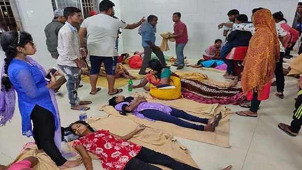 Gas leak: Over 100 workers of a Prawn processing factory admitted in hospital