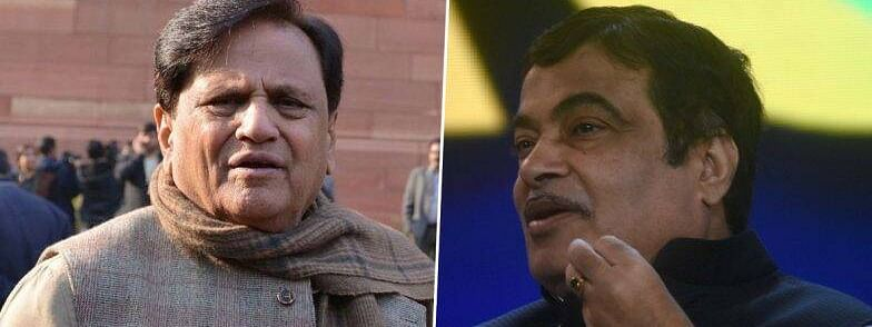 Amid stalemate in Maha politics, Ahmed Patel meets Gadkari