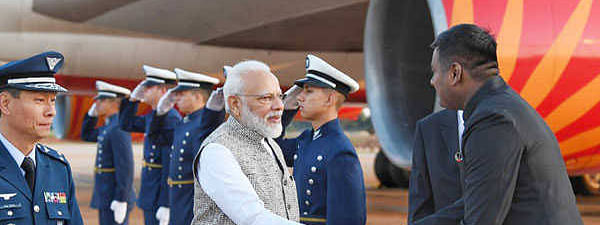 PM Modi reaches Brazil to attend 11th BRICS summit