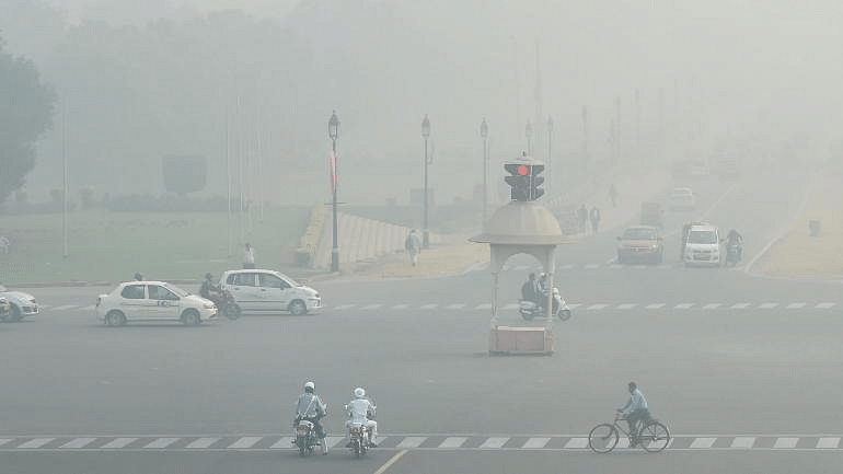 Delhi air improves from 'severe' to 'poor'