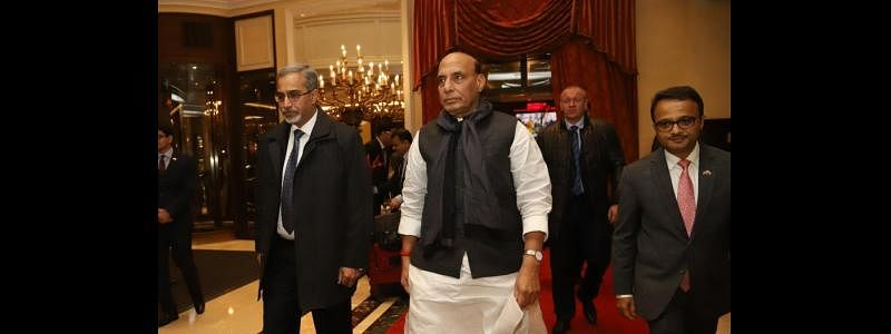 Rajnath in Moscow to boost Defence cooperation with Russia
