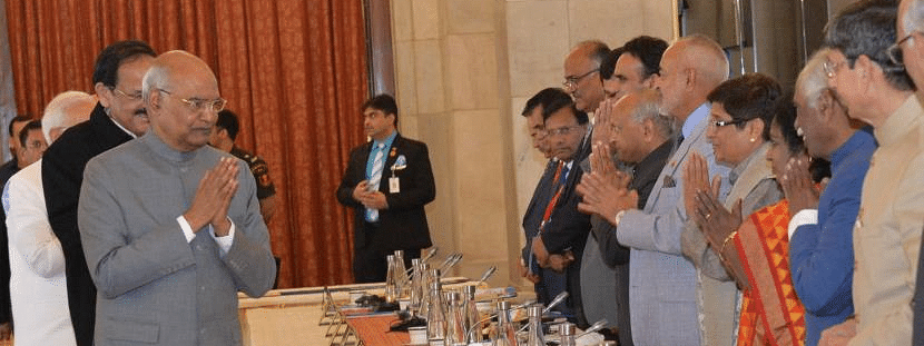 Governor's role important for ensuring better Centre-State ties: Prez Kovind
