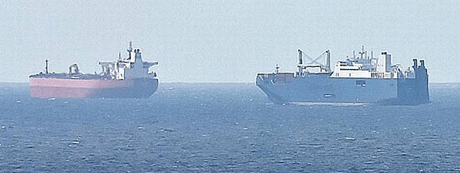 Saudi warning on risk to ship in Red Sea