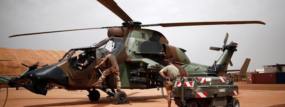 13 French military personnel die in helicopter accident in Mali