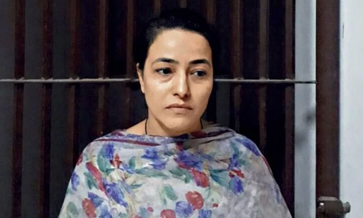Honeypreet released from jail