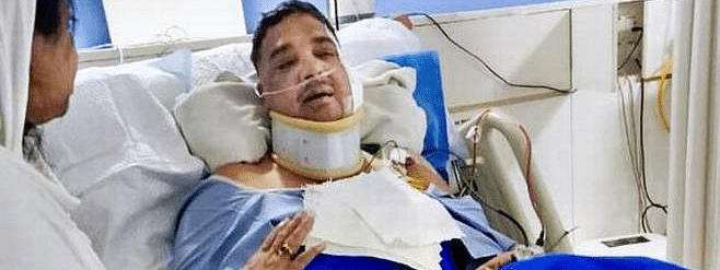 Tanveer Sait's condition is stable
