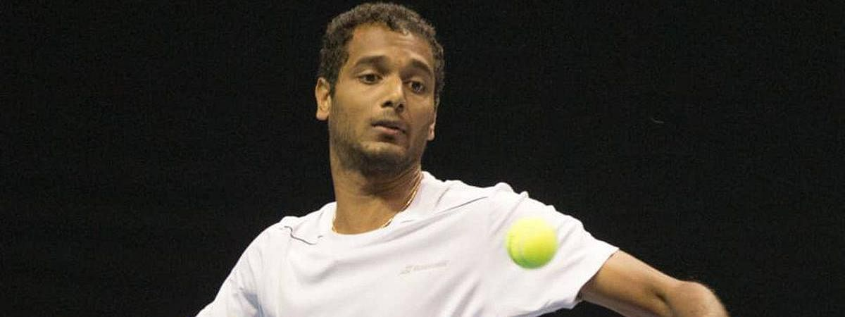 Ramanathan advances to singles q-final and doubles' semis
